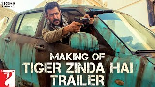 Making of the Trailer | Tiger Zinda Hai | Salman Khan | Katrina Kaif | Ali Abbas Zafar