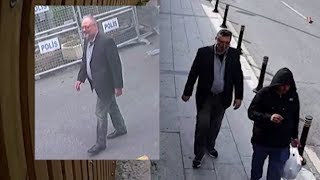 'Body double' exits Saudi Consulate wearing Jamal Khashoggi's clothes, video shows