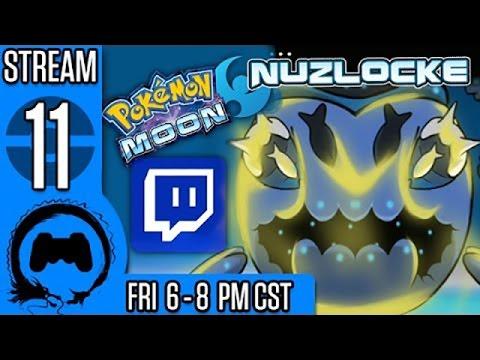 Pokemon Moon NUZLOCKE BLIND Part 11 Stream Four Star