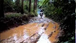 Trilha de moto - equipe molecada - video 23