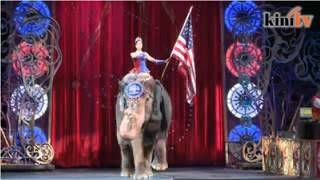 Gajah sarkas Ringling mulai ucap selamat tinggal