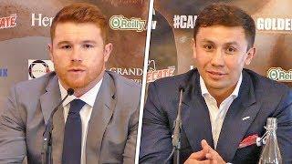 Gennady Golovkin vs. Canelo Alvarez | FULL PRESS CONFERENCE