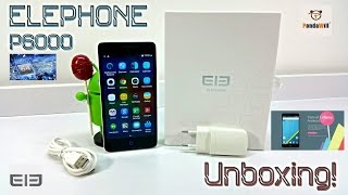 Elephone P6000 - [Unboxing] - MTK6732 @ 1.5GHz 64Bit - 2GB/16GB - 4G LTE - 5.0