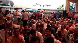 Bjp MLA Joykishan protest Rally at Mayang Imphal