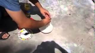 قلي البيض على حراره الشمس في البصره -بنكلادش+عراقي