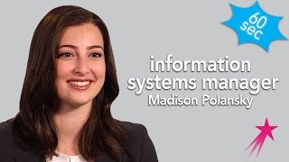 60 Seconds Information Systems Manager: Madison Polansky