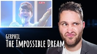 Golden Girl Gerphil - 'The Impossible Dream' - Asia's Got Talent | REACTION