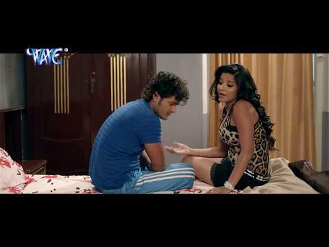 खेसारी मोनलीशा किसिंग रोमांटिक सिन । Khesari Monalisha kissing romantic scene    Hot Monalisha