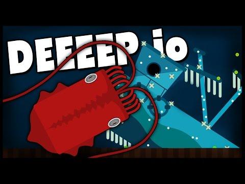Deeeep.io - RELEASE THE KRAKEN! GIANT SQUID Is The Biggest Animal - New Animals - Deeeep.io Gameplay