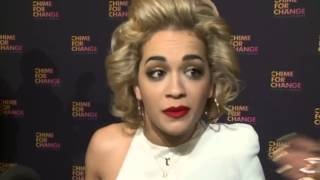 Rita Ora Interview at Chime For Change