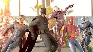 MARVEL vs. DC | EPIC DANCE BATTLES! ( THE AVENGERS vs. JUSTICE LEAGUE )