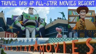 TRAVEL DAY & ALL-STAR MOVIES RESORT | Walt Disney World Vacation June 2016 Day 1, Part 1