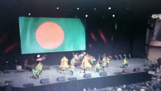 Cholo Bangladesh fan song in ICC opening ceremony