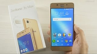Asus Zenfone 3S Max with 5000 mAh Unboxing & Overview