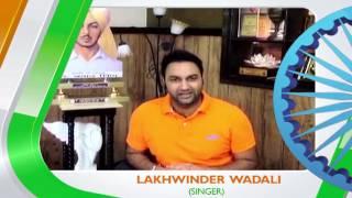 PTC Network I Lakhwinder Wadali Wishes You A Happy Independence Day I 2015