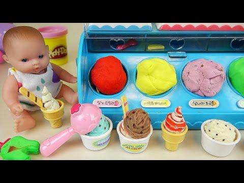 Xxx Mp4 Baby Doll Ice Cream Shop And Play Doh Ice Cream Toys Play 3gp Sex