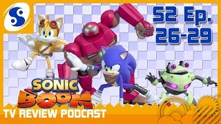 Sonic Boom TV Review Podcast #11 - Robots From the Sky