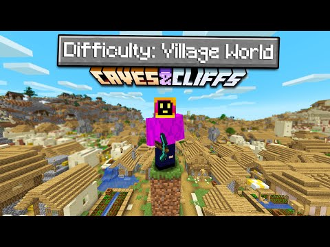 Can You Beat Minecraft On A Village Only World