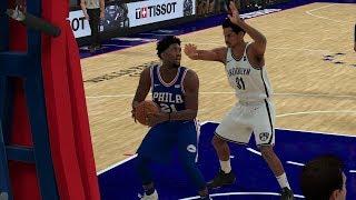Philadelphia 76ers vs Brooklyn Nets – Game 1 NBA Playoffs 2019 Full Game - NBA 2K19 4/13/19
