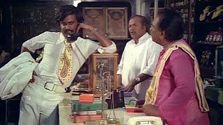 சூப்பர் ஹிட் காமெடி| Rajinikanth, Suruli Rajan, Mega Hit Movie Comedy Scenes| Johnny Full Comedy|