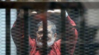 حكم نهائي بالسجن المؤبد على الرئيس المصري المعزول محمد مرسي بتهمة التخابر مع قطر
