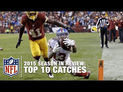 Top 10 Catches 2015 Regular Season NFL