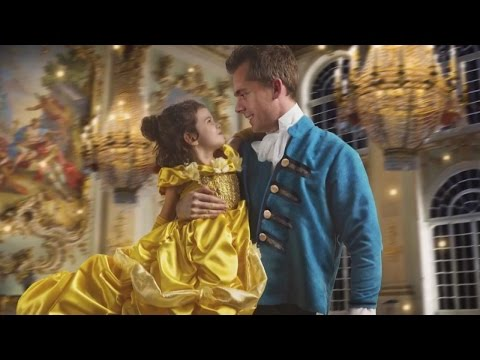 Dad Gifts Daughter Surprise 'Beauty and the Beast' Photo Shoot