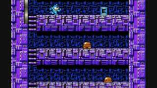 Mega Man 2 - Skull Castle Stage 4 Perfect Run