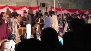 Gujjar Wedding Mujra Dancers Part 6 58/12/L Chichawatni Sahiwal Feb 2014