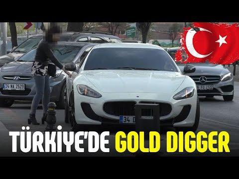 Türkiye de Maserati ile Kız Tavlamak GOLD DIGGER PRANK