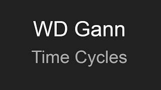 WD Gann Time Cycles!