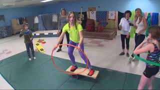 Getting kids active with Circus in Motion