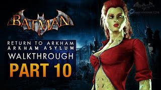 Batman: Return to Arkham Asylum Walkthrough - Part 10 - Loose Ends