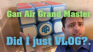 Gan 356s Air Grand Master Blue Limited Edition / Vlog?