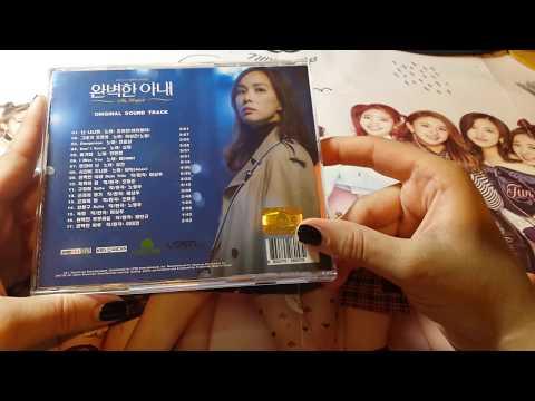 THE PERFECT WIFE OST - 완벽한 아내 OST (KBS TV 드라마) KOREAN DRAMA UNBOXING (VIXX N 빅스 엔)