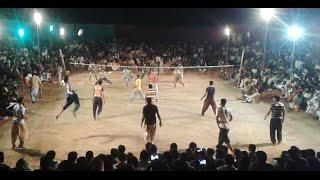 Shooting Volleyball Show Match April 2016 Shani Gujjar Vs Akhtar Baloch - Volleyball #3