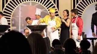 Mapo Tofu demonstration - Iron Chef Event Melbourne 2015