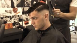 Andrew barbershop RAZOR FADED HAIR CUT