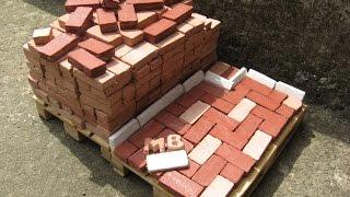 How To Make Miniature Bricks 1:10 (Home Made)