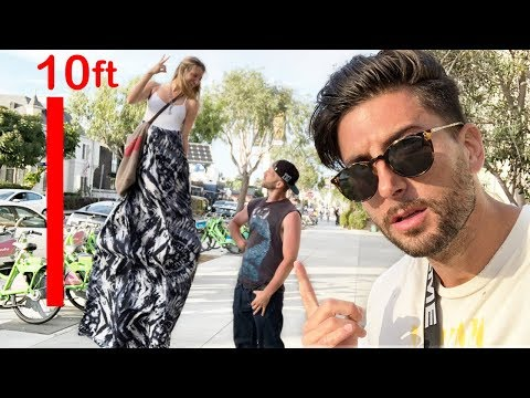 10 FOOT TALL GIRL PRANK