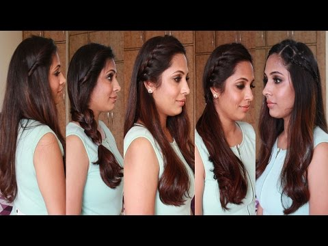 5 Quick & Easy Hairstyles Heatless Hairstyles