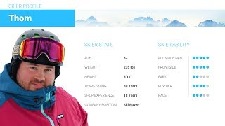 Thom's Review-Atomic Vantage 100 CTI Skis 2018-Skis.com