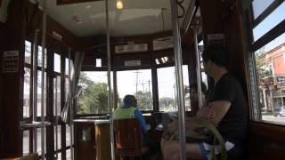 New Orleans - St Charles Streetcar Ride