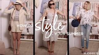 How To Style Your Summer With Lauren Conrad | Kohl's
