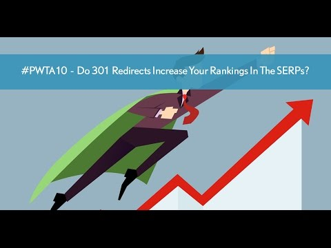 SEO Test -  Do 301 Redirects Increase Your Rankings In The SERPs?