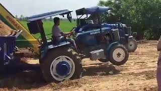 swaraj 735 pulling a trolly    like    share    subscribe   