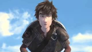 hiccup and astrid a race to the edge clip