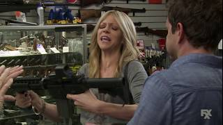 It's Always Sunny in Philadelphia - Dee and Dennis tries to buy a rifle.