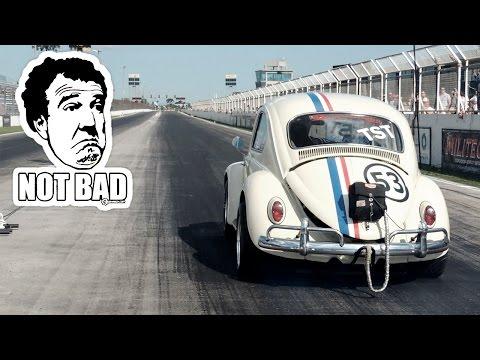Fusca Herbie Turbo 0 200Km h em 8.7s