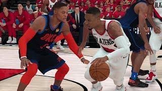 Oklahoma City Thunder vs Portland Trailblazers – Game 5 NBA Playoffs 2019 Full Game NBA 2K19 4/23/19